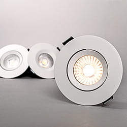 The background is gray and the picture shows our downlight, comfort g3