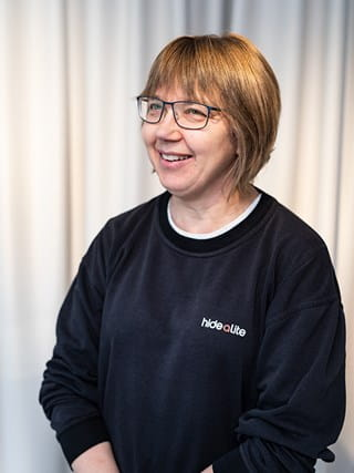 HIdealite. Gunilla Hultberg. Production employees.