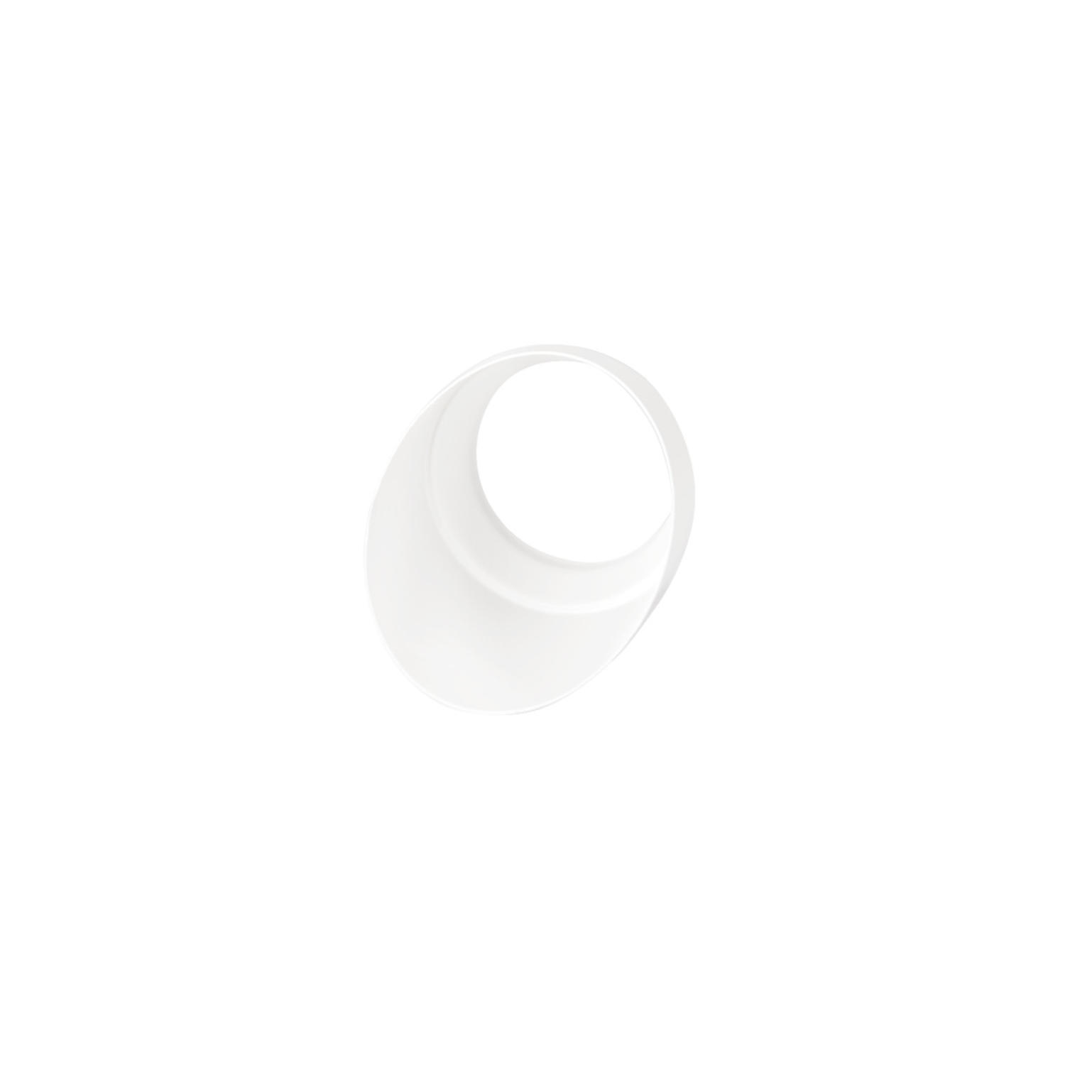 Cap Focus 76mm White