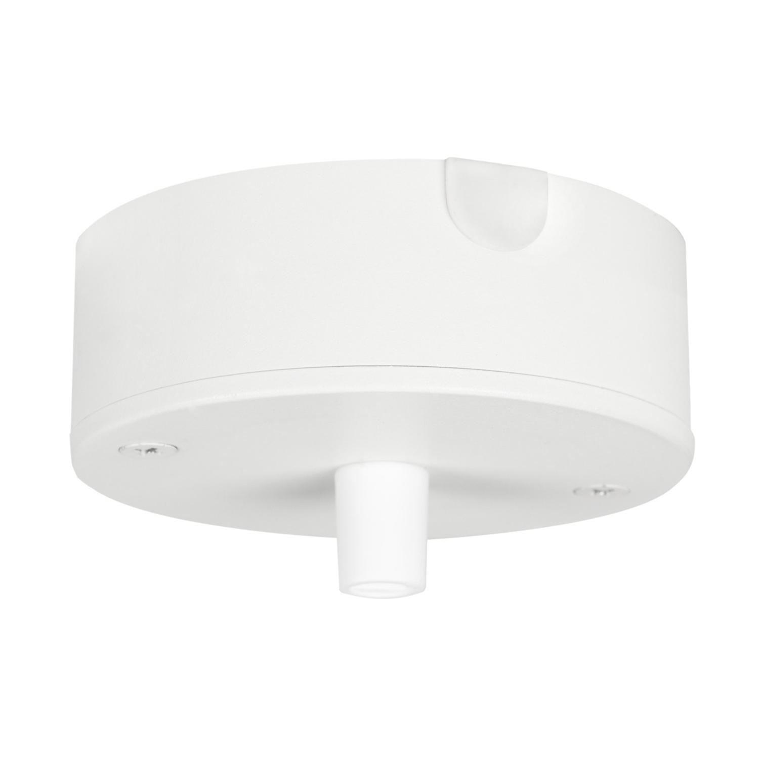 Ceiling cup for box/surface mounting White