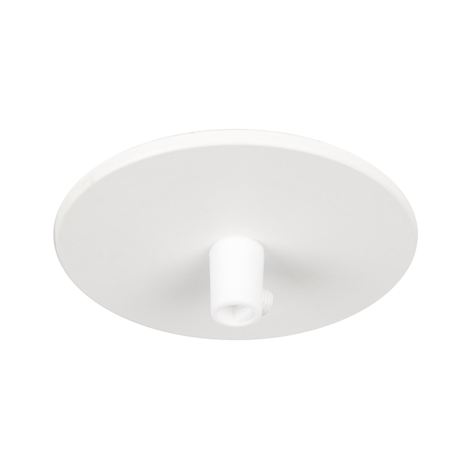 Ceiling cup recessed w. spring White