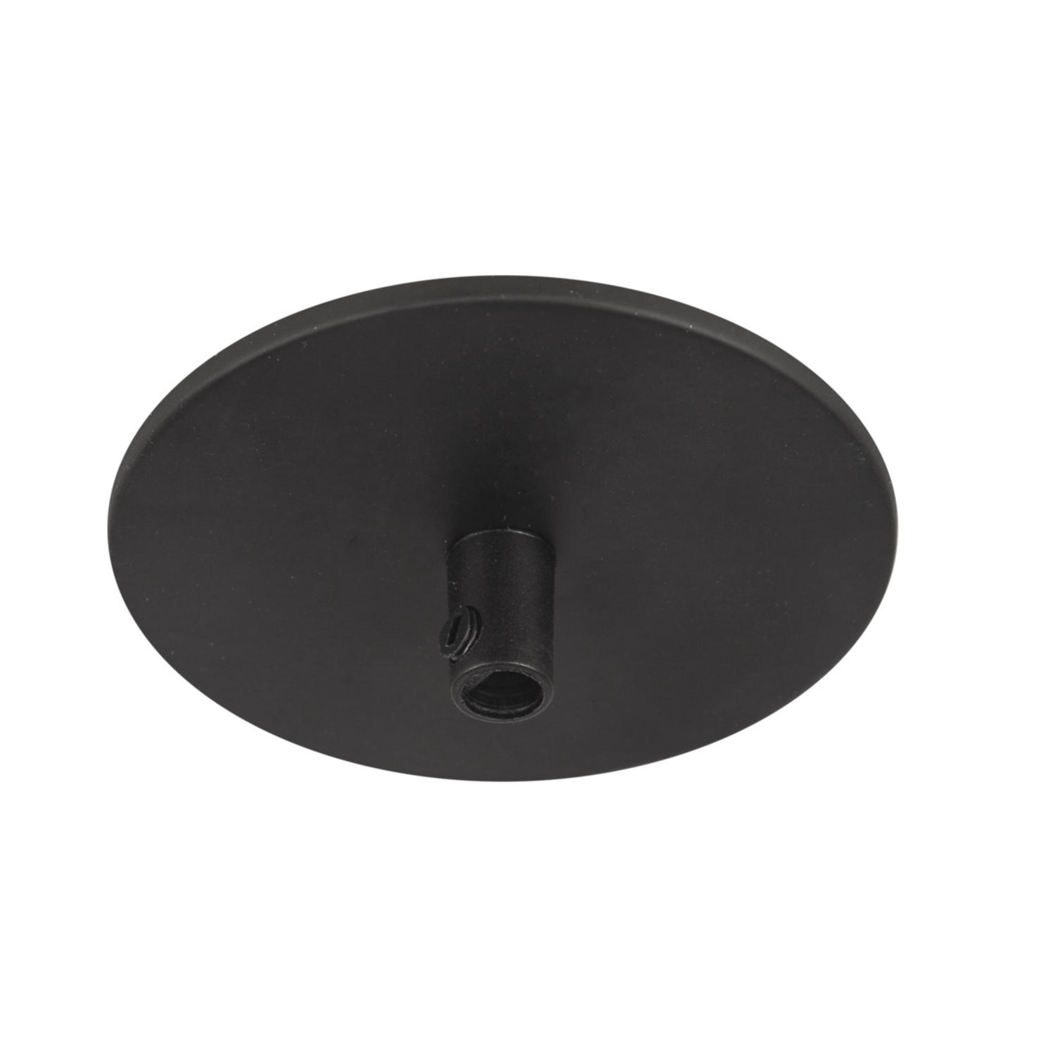Ceiling cup recessed w. spring Black
