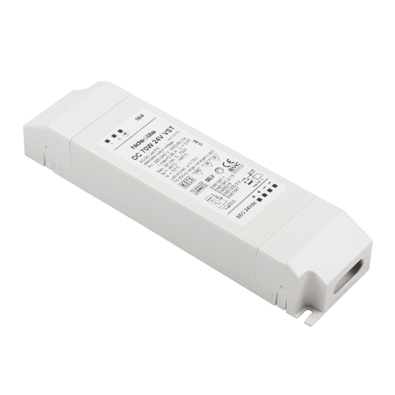 LED-muuntaja VST 24VDC 70W
