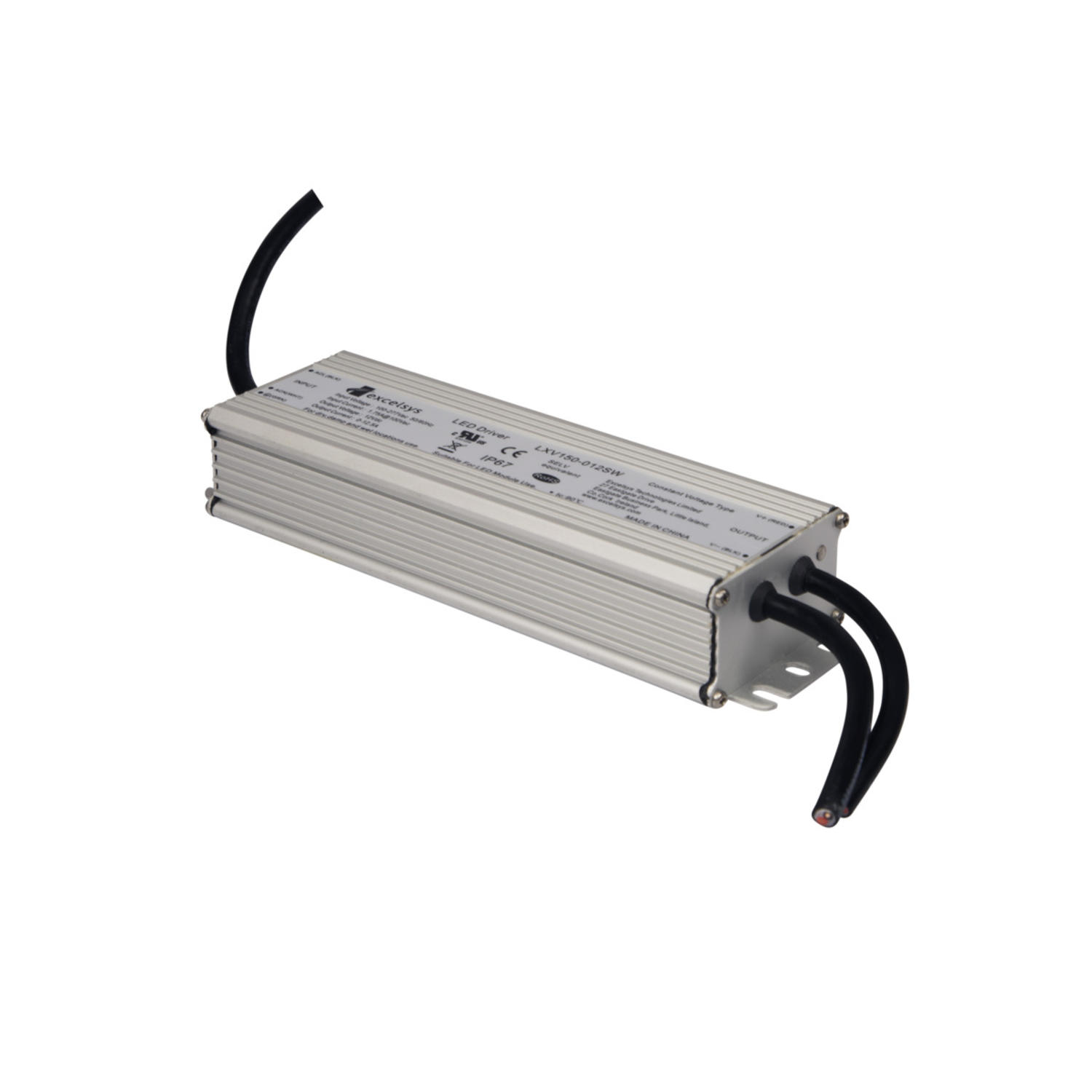 LED-trafo LXV 12VDC 150W IP67
