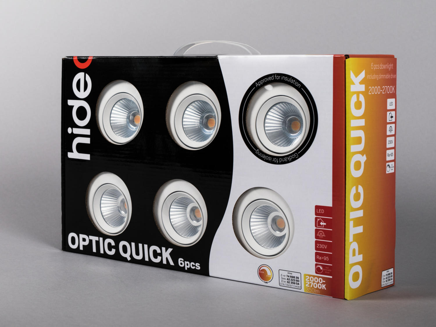 Optic Quick ISO 6-pakk