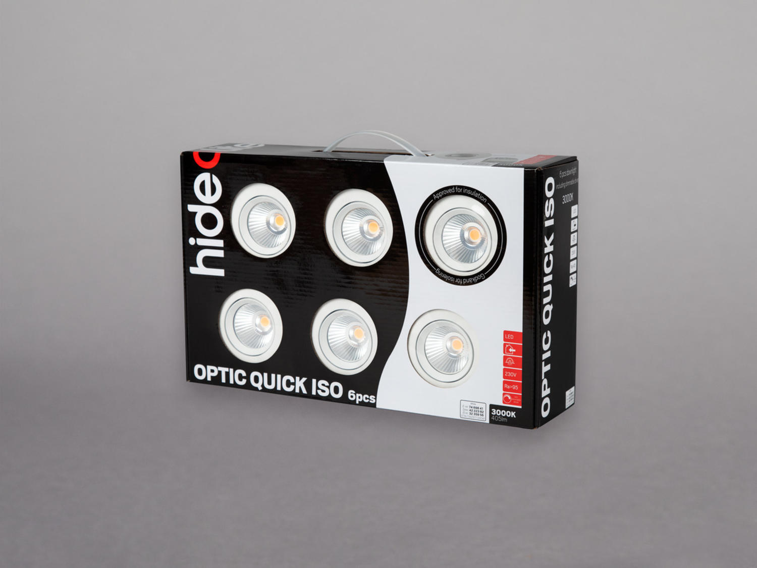 Optic Quick ISO 6-pack
